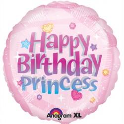 PRINCESS HAPPY BIRTHDAY STANDARD S40 PKT
