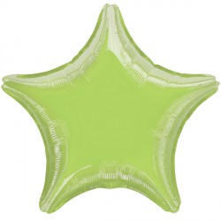 LIME GREEN METALLIC STAR STANDARD S15 FLAT A
