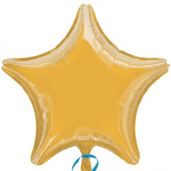 GOLD METALLIC STAR STANDARD S15 FLAT A