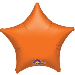 ORANGE METALLIC STAR STANDARD S15 FLAT A