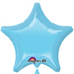 IRIDESCENT PEARL LIGHT BLUE STAR STANDARD S15 FLAT A