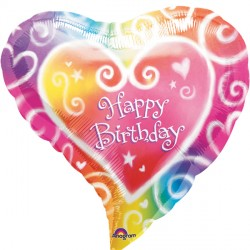 WATERCOLOUR BIRTHDAY STANDARD S40 PKT