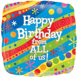 HAPPY BIRTHDAY FROM ALL OF US STANDARD S40 PKT