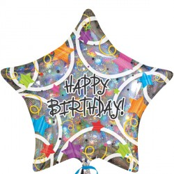 STARS HAPPY BIRTHDAY STANDARD S40 PKT