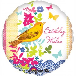 BIRTHDAY BIRD STANDARD S40 PKT