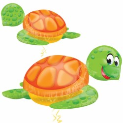 "SILLY SEA TURTLE SHAPE P40 PKT (31"" x 20"")"