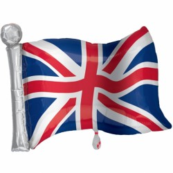 UNION FLAG SHAPE P35 PKT