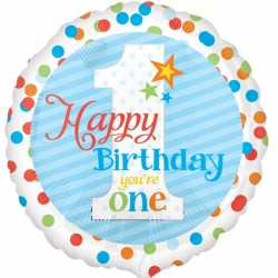 YOU'RE ONE BLUE HAPPY BIRTHDAY STANDARD S40 PKT SALE