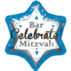 BAR MITZVAH BLUE STANDARD S40 PKT