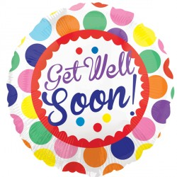 GET WELL SOON DOTS STANDARD S60 PKT