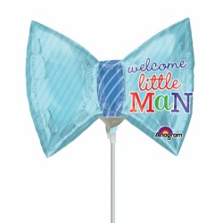 LITTLE PRINCE BOW TIE MINI SHAPE A30 INFLATED WITH CUP & STICK