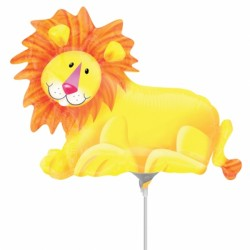 JUNGLE PARTY LION MINI SHAPE A30 FLAT
