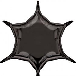BLACK 6 POINT STAR D32 FLAT (3CT)