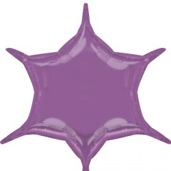 LILAC 6 POINT STAR D32 FLAT (3CT)