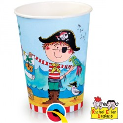 RACHEL ELLEN PAPER CUPS 8CT X 6 PACKS