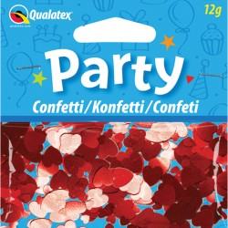RED HEARTS CONFETTI 12G 1CT X 6 PACKS