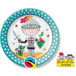 RACHEL ELLEN KNIGHT PAPER PLATES 8CT X 6 PACKS