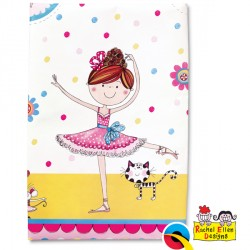 RACHEL ELLEN BALLERINA TABLE COVER 1CT X 6 PACKS