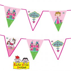 RACHEL ELLEN PRINCESS BUNTING 1CT X 6 PACKS