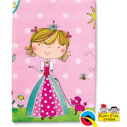 RACHEL ELLEN PRINCESS TABLE COVER 1CT X 6 PACKS