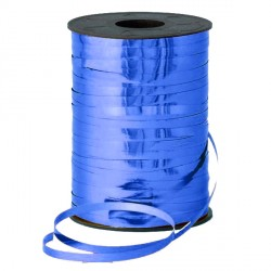 BLUE 5MM METALLIC RIBBON 500M