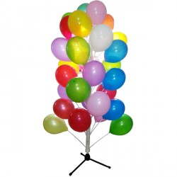 PLASTIC BALLOON TREE STAND 1.5m (BULK 8 PIECE)