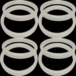 19g WHITE PLASTIC BANGLE WEIGHT 100CT
