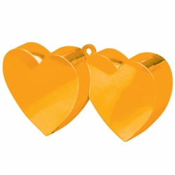 ORANGE DOUBLE HEART WEIGHTS 170g 12PC