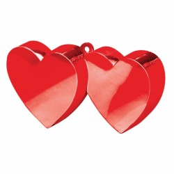 RED DOUBLE HEART WEIGHTS 170g 12PC