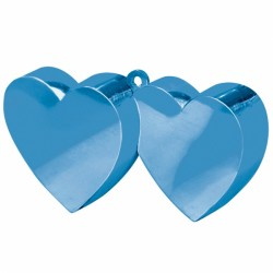 BLUE DOUBLE HEART WEIGHTS 170g 12PC