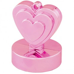 PEARL PINK SINGLE HEART WEIGHTS 110g 12CT