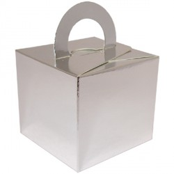 SILVER BOUQUET BOX 10CT