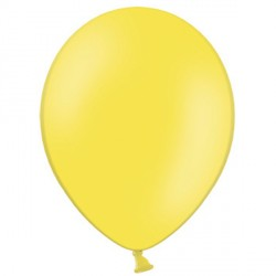 "YELLOW 12"" PASTEL BELBAL (100CT)"