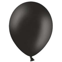 "BLACK 12"" PASTEL BELBAL (100CT)"