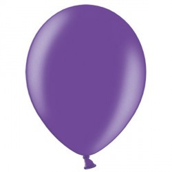 "PURPLE 12"" METALLIC BELBAL (100CT)"