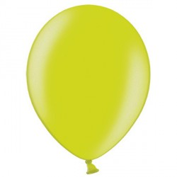 "APPLE GREEN 12"" METALLIC BELBAL (100CT)"