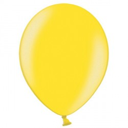 "CITRUS YELLOW 12"" METALLIC BELBAL (100CT)"