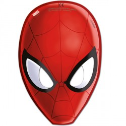 SPIDER-MAN ULTIMATE PARTY MASKS (6CT X 24 PACKS)