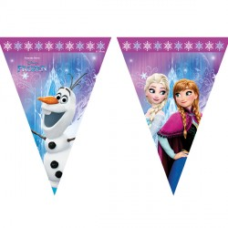 DISNEY FROZEN TRIANGLE FLAG BANNER (1CT X 24 PACKS)