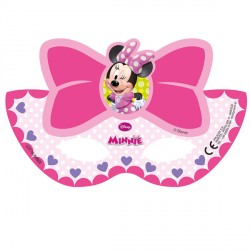 MINNIE MOUSE PARTY MASKS (6CT X 24 PACKS)