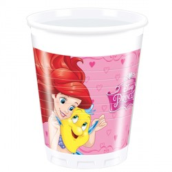 DISNEY PRINCESS PLASTIC CUPS (8CT X 24 PACKS)