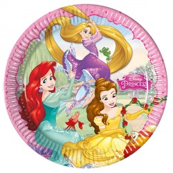 DISNEY PRINCESS PAPER PLATES (8CT X 25 PACKS)