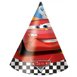 DISNEY CARS PARTY HATS (6CT X 24 PACKS)