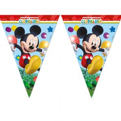 MICKEY MOUSE TRIANGLE FLAG BANNER (1CT X 24 PACKS)