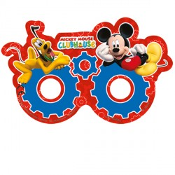 MICKEY MOUSE PARTY MASKS (6CT X 24 PACKS)