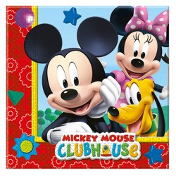 MICKEY MOUSE NAPKINS (20CT X 30 PACKS)