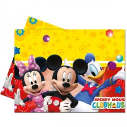 MICKEY MOUSE TABLE COVER (1CT X 12 PACKS)