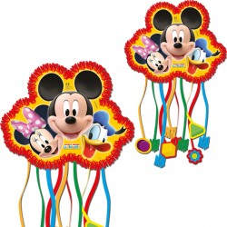 MICKEY MOUSE PINATA (1CT X 6 PACKS)