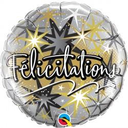 """FELICITATIONS ECLATS 18"""" PKT (5CT)"""