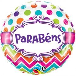 """PARABENS CHEVRON DOTS 18"""" PKT (5CT)"""